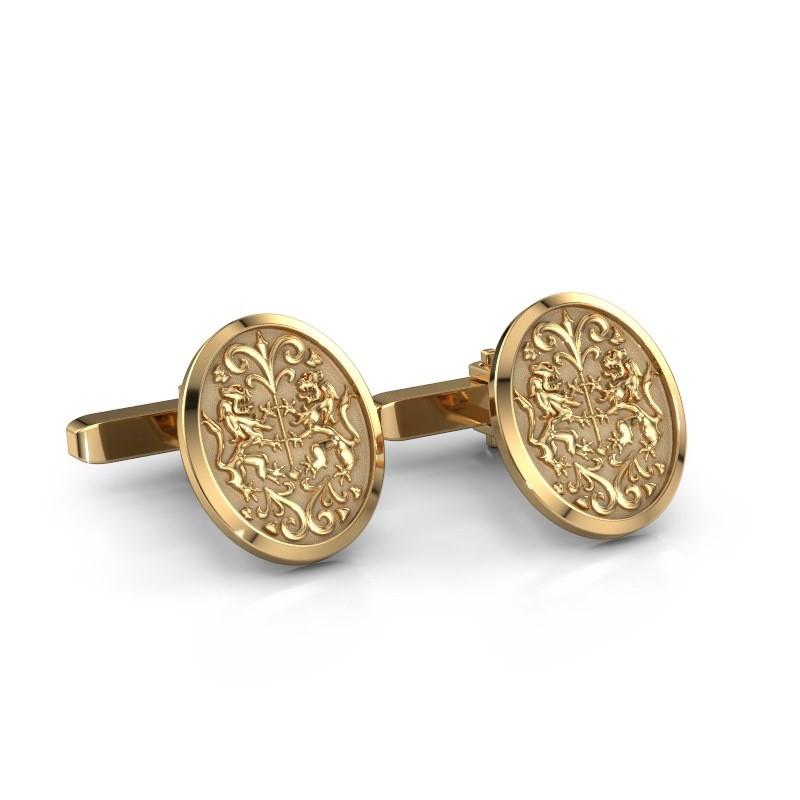 Cufflinks Egbert 585 gold