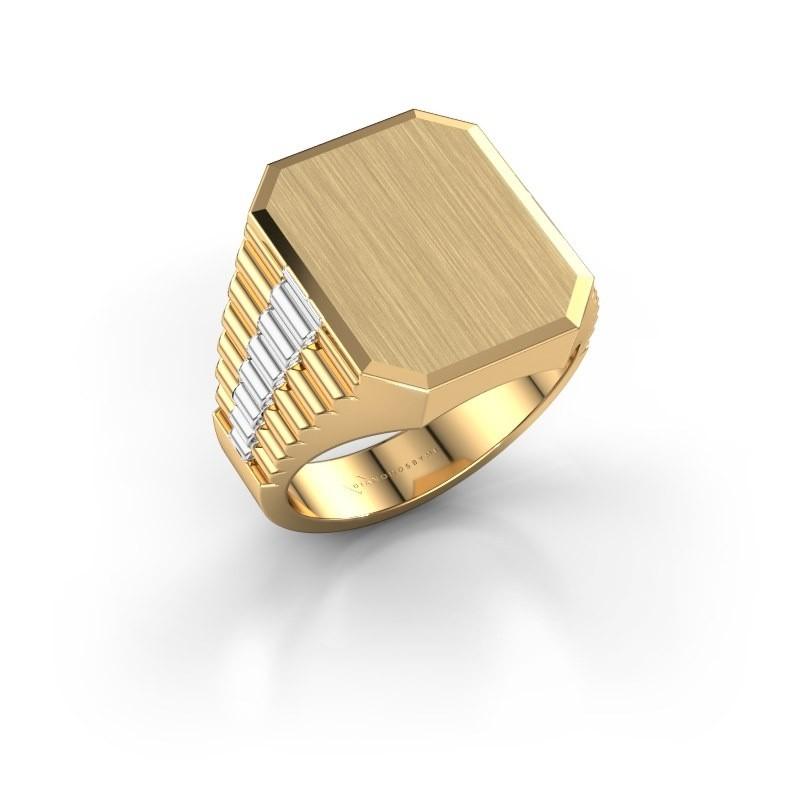Rolex stijl ring Erik 4 585 goud