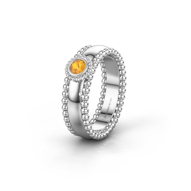 Alliance WH3053L16A 925 argent citrine ±6x1.7 mm