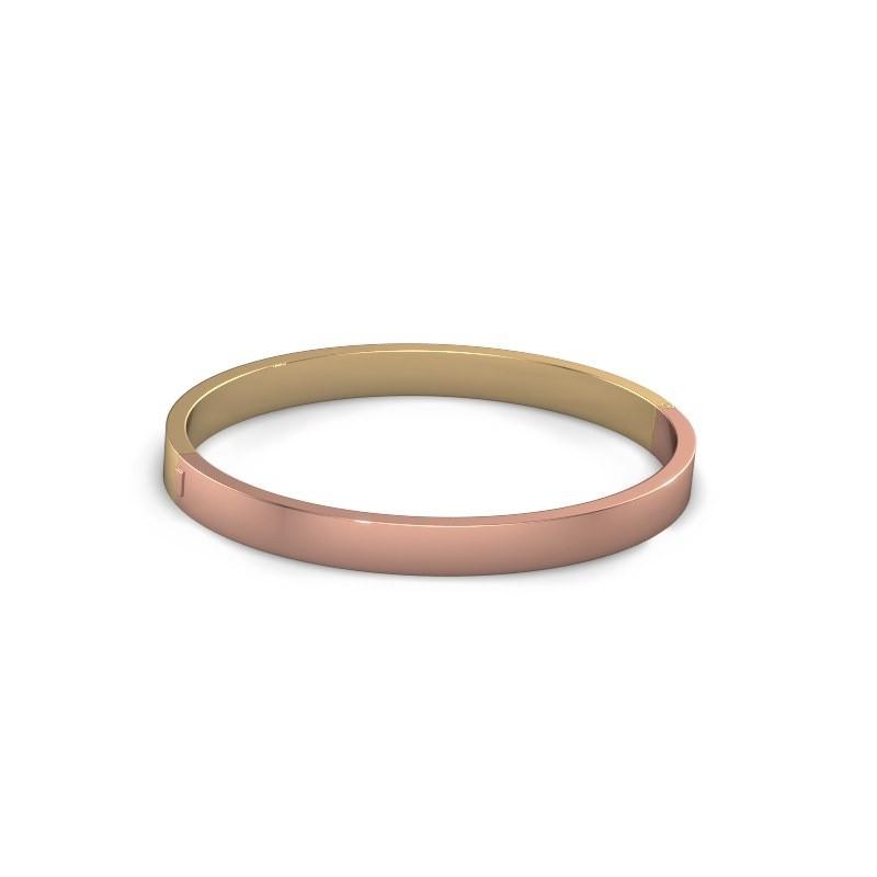 Slavenarmband Edra 10mm 585 rosé goud