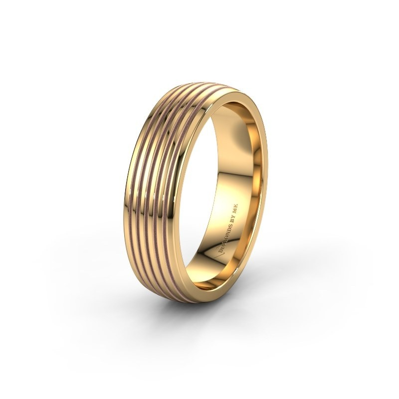 Trouwring WH0150M26A 585 goud ±6x1.7 mm