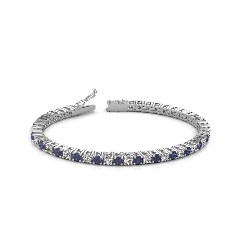 Tennisarmband Jenny 585 witgoud diamant 4.32 crt