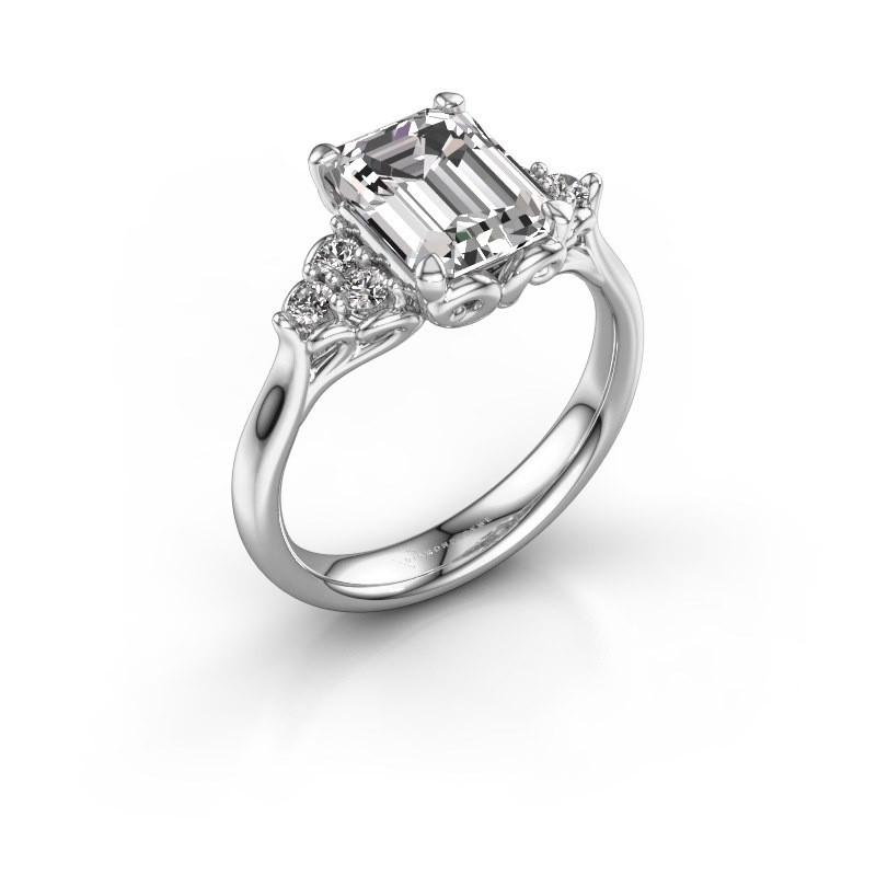 Aanzoeksring Myrna EME 950 platina diamant 1.300 crt