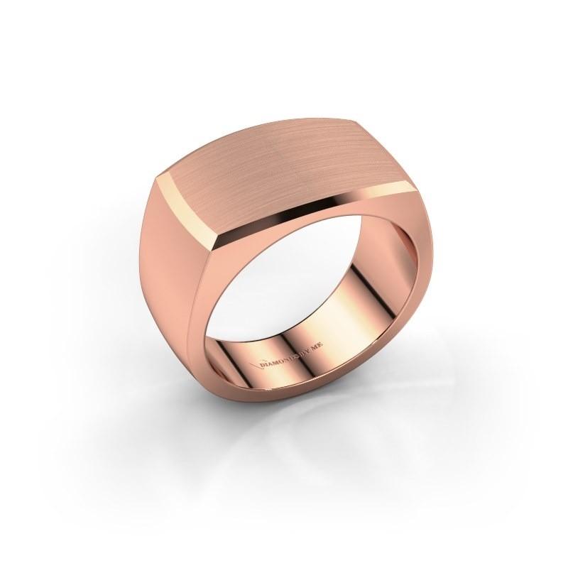 Heren ring Samuel 375 rosé goud