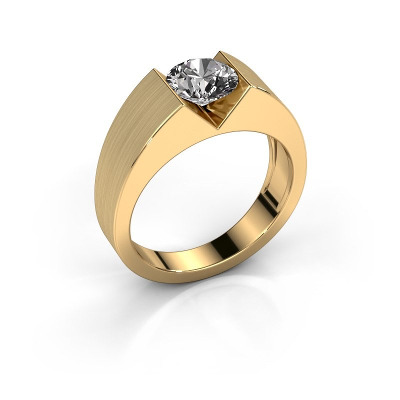 Verlovingsring Lizzy 1 585 goud diamant 0.20 crt