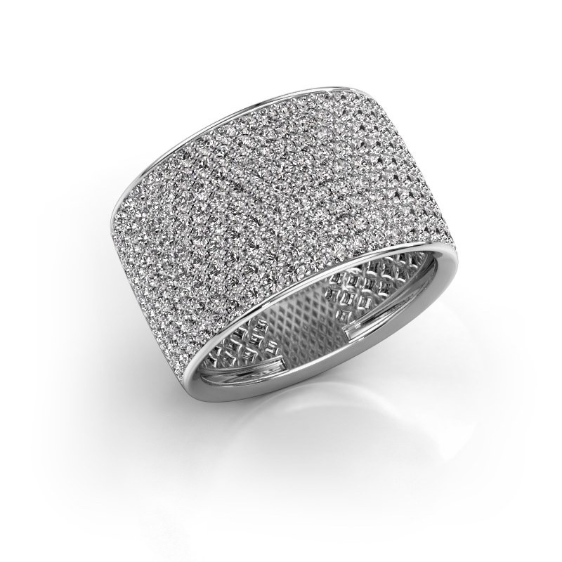 Ring Macy 585 witgoud lab-grown diamant 2.26 crt