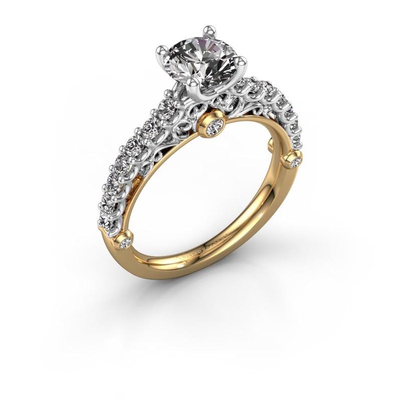 Verlovingsring Shaunda 585 goud diamant 1.50 crt