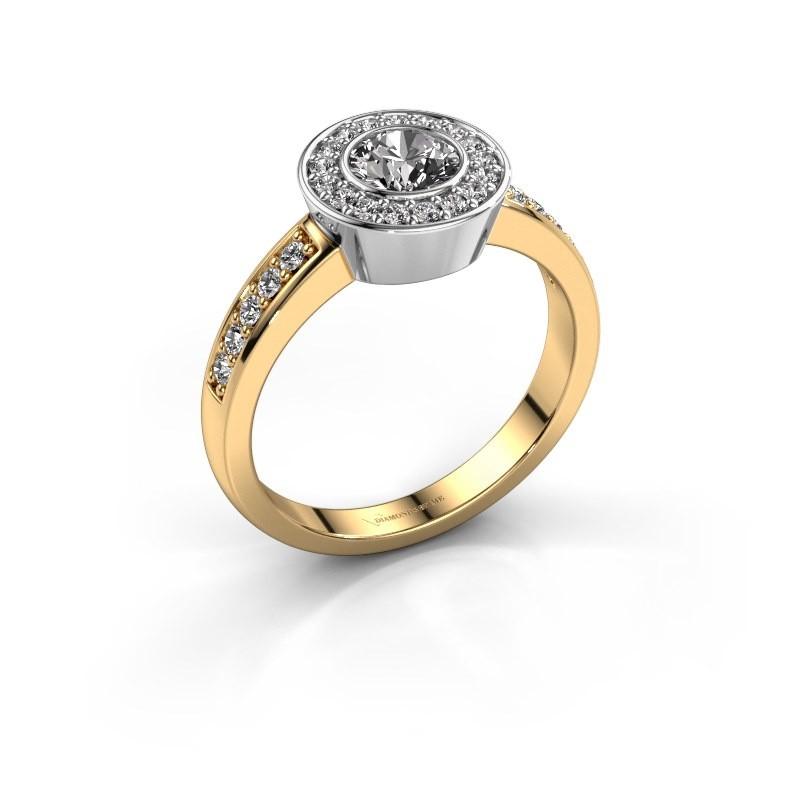 Ring Adriana 2 585 goud diamant 0.824 crt