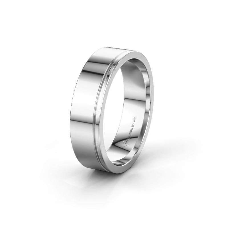 Wedding ring WH0500M16AP 950 platinum ±6x1.7 mm