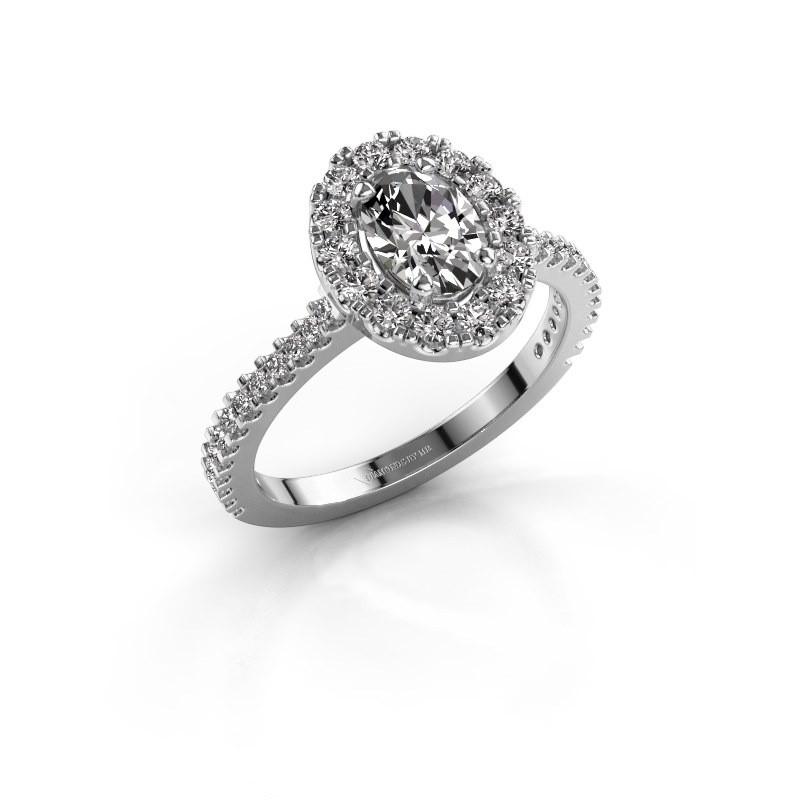 Verlovingsring Jorinda 2 585 witgoud diamant 1.275 crt