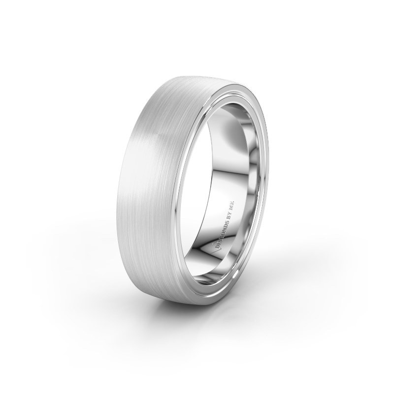 Wedding ring WH2230M26E 925 silver ±0.24x0.09in