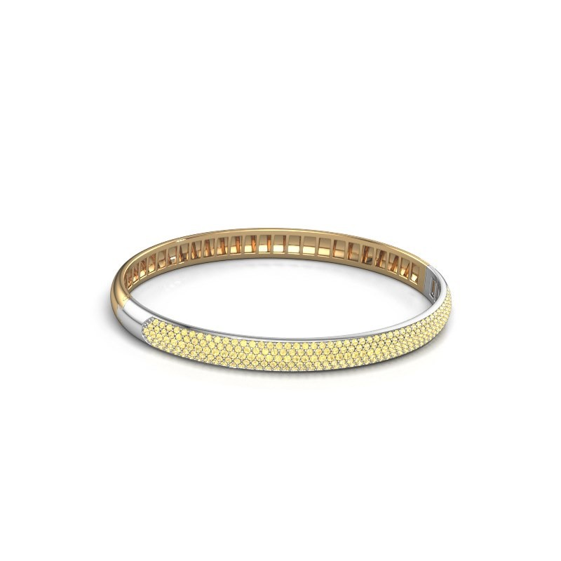 Armband Emely 6mm 585 goud gele saffier 1.2 mm