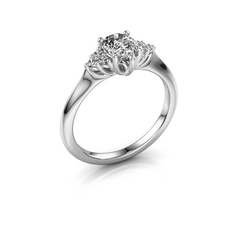 Verlovingsring Felipa per 925 zilver lab-grown diamant 0.765 crt