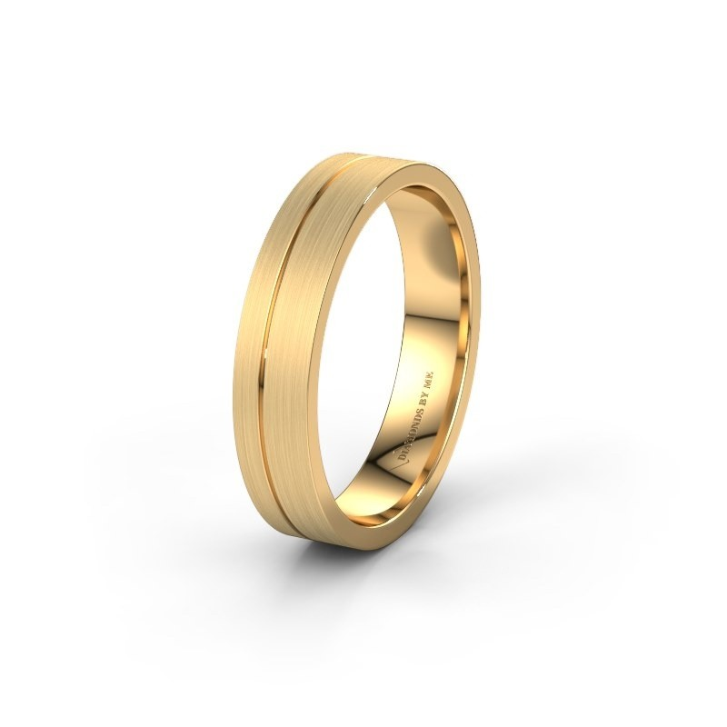 Trouwring WH0160M14XM 585 goud ±4,5x1.5 mm