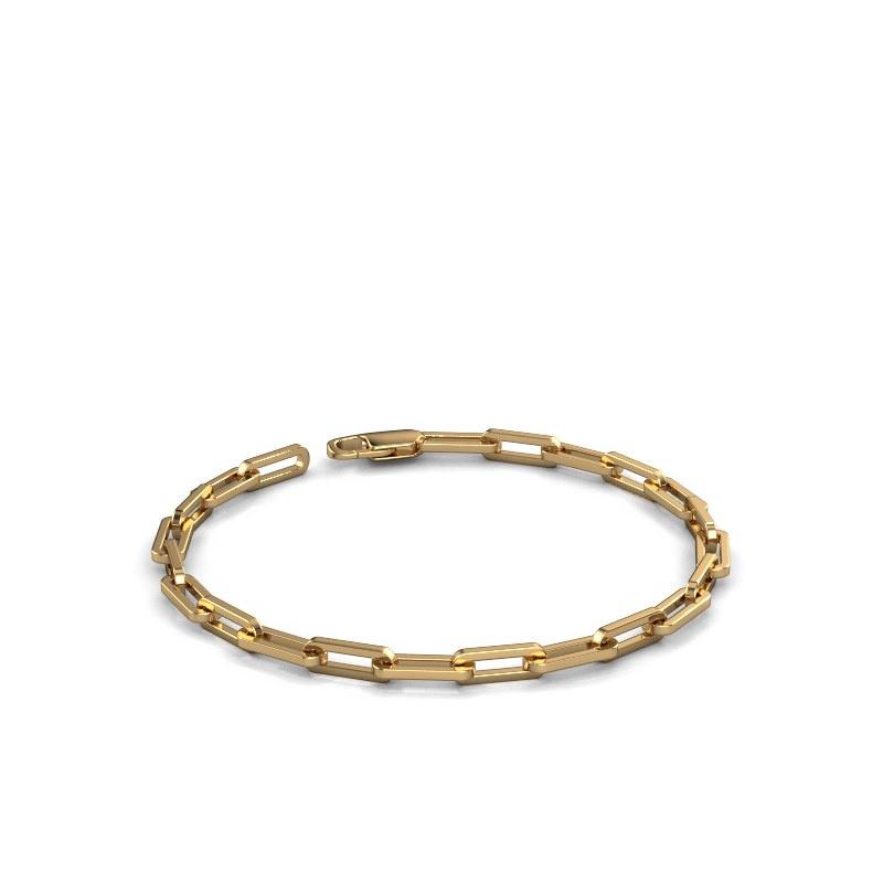 Armband CFE sqr 4.0 585 Gold ±4 mm