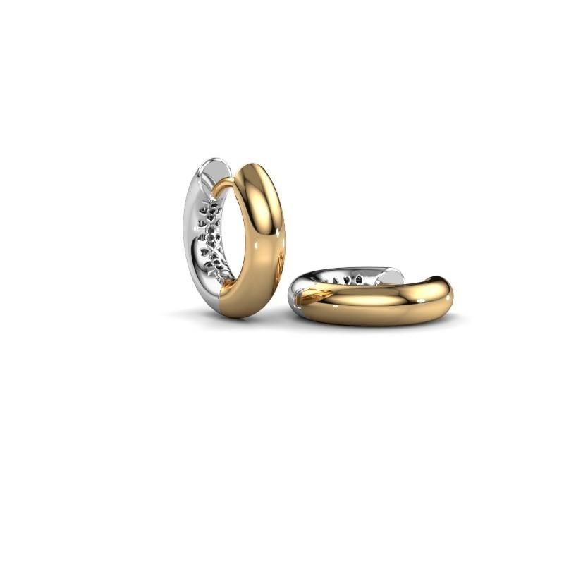 Creolen Tristan A 14 mm 585 goud