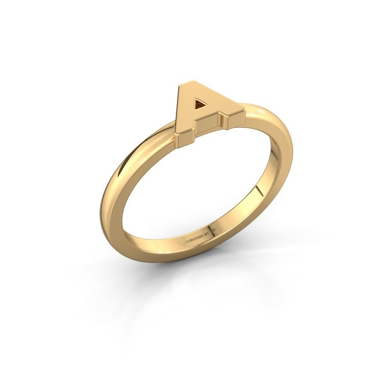Ring Initial ring 020 585 gold