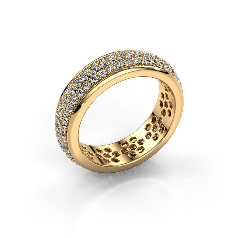 Ring Tara 585 goud lab-grown diamant 1.32 crt