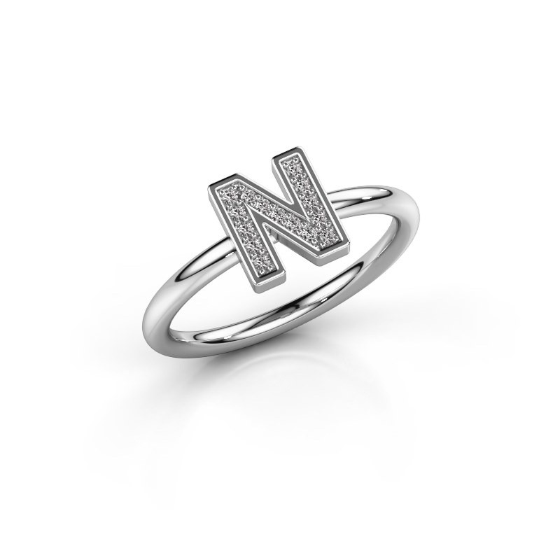 Bague Initial ring 110 925 argent