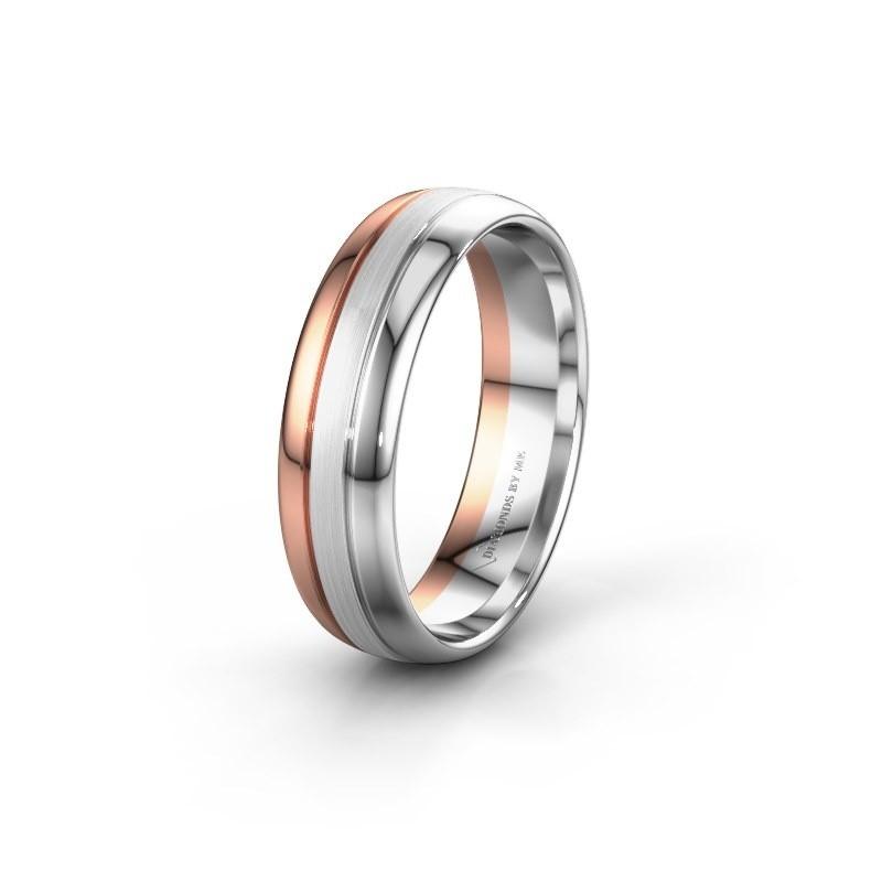 Wedding ring WH0400M36APM 585 rose gold ±6x1.7 mm
