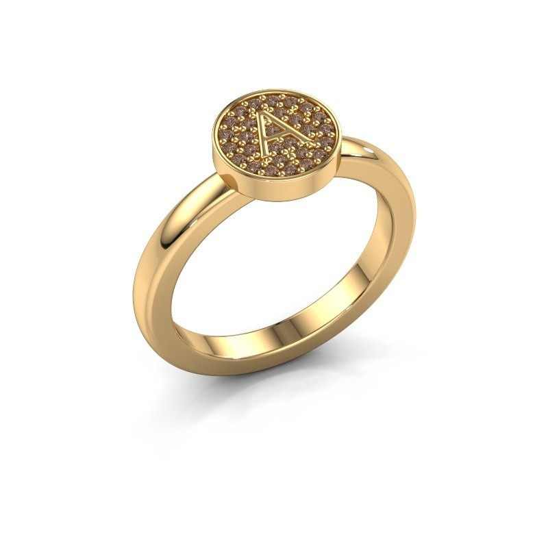 Ring Initial ring 010 585 Gold