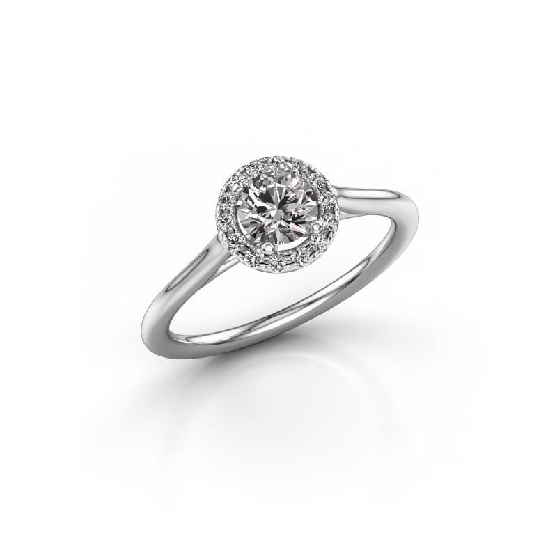 Verlovingsring Marty 1 585 witgoud diamant 0.605 crt