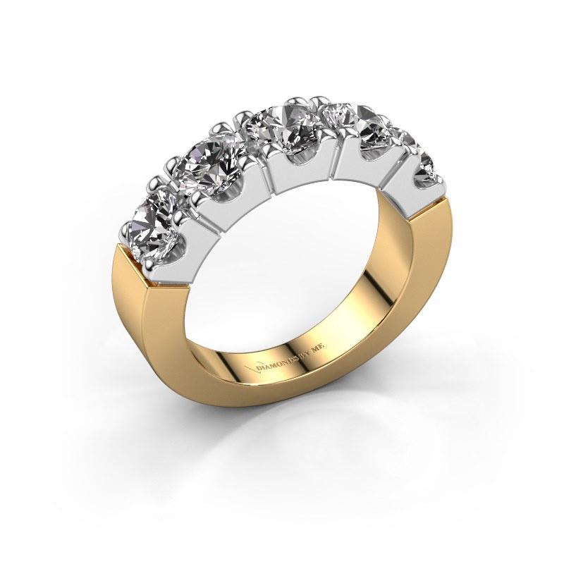 Engagement ring Dana 5 585 gold diamond 2.00 crt