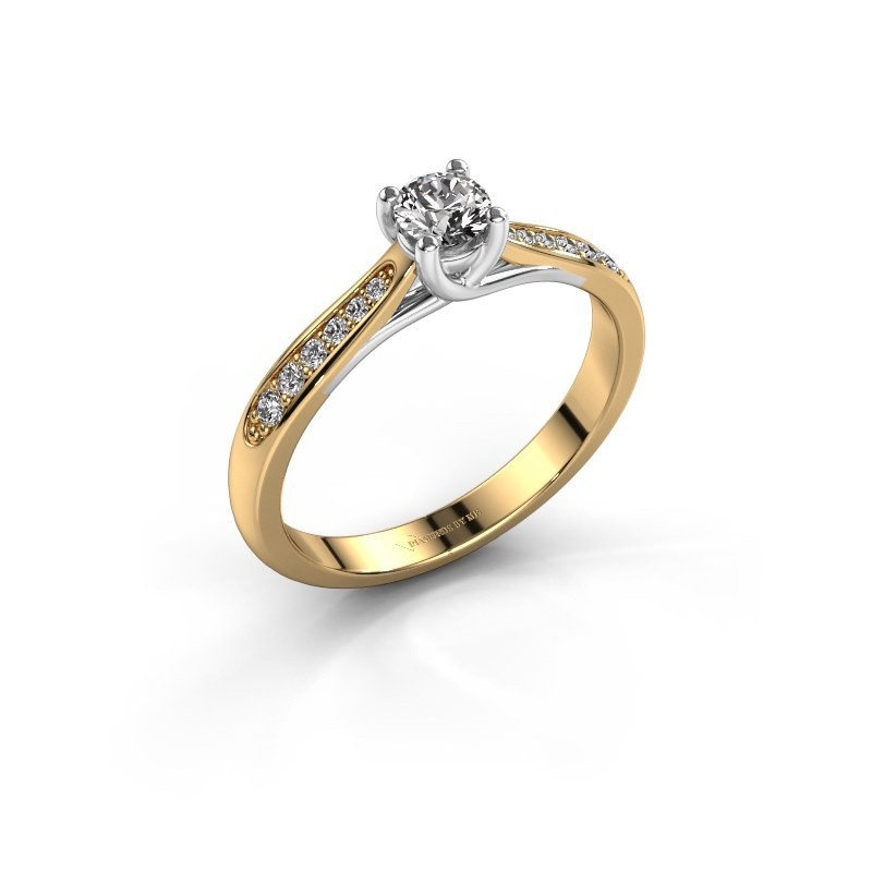 Engagement ring Mia 2 585 gold diamond 0.25 crt