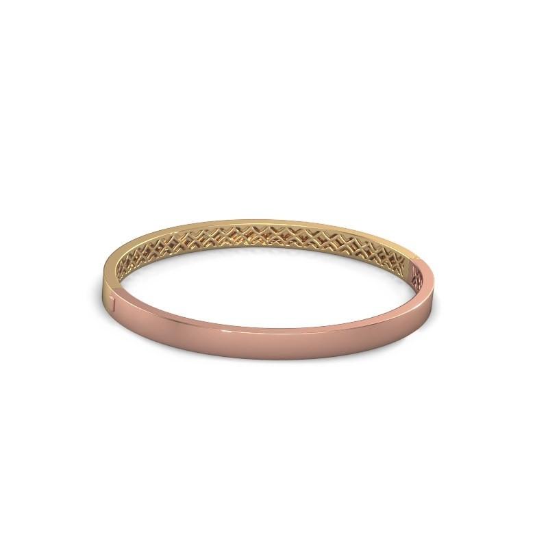 Slavenarmband Aukje 5mm 585 rosé goud