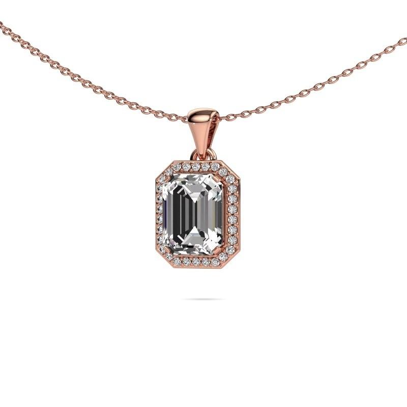 Ketting Dodie 375 rosé goud lab-grown diamant 2.65 crt
