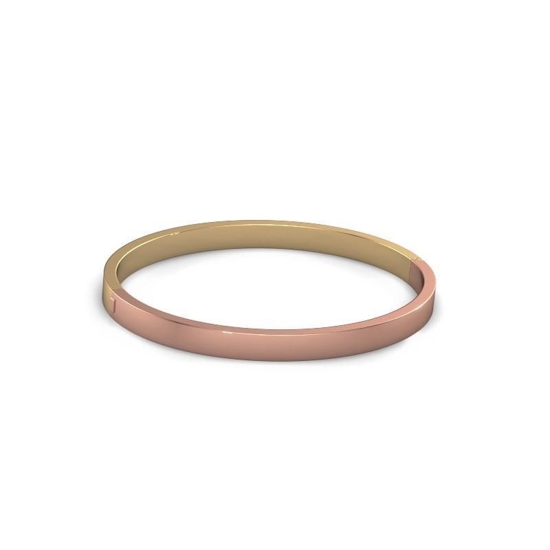 Slavenarmband Edra 5mm 585 rosé goud