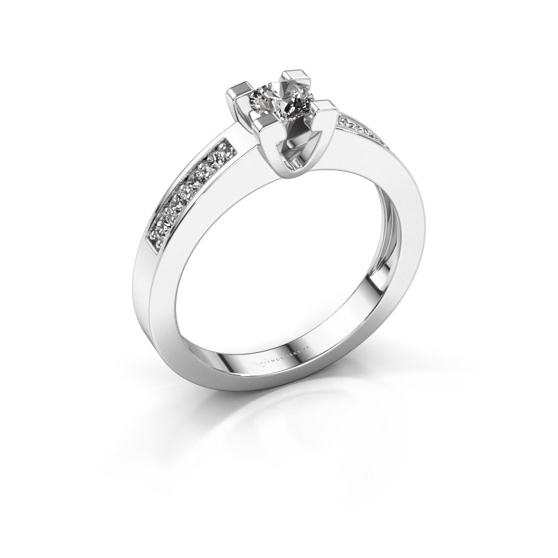 Aanzoeksring Anne 2 925 zilver diamant 0.25 crt