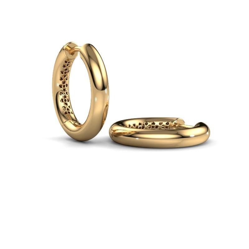 Creolen Tristan A 19 mm 585 goud
