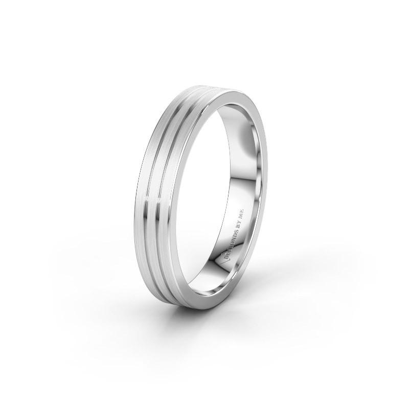 Trouwring WH0400M14AM 925 zilver ±4x1.7 mm