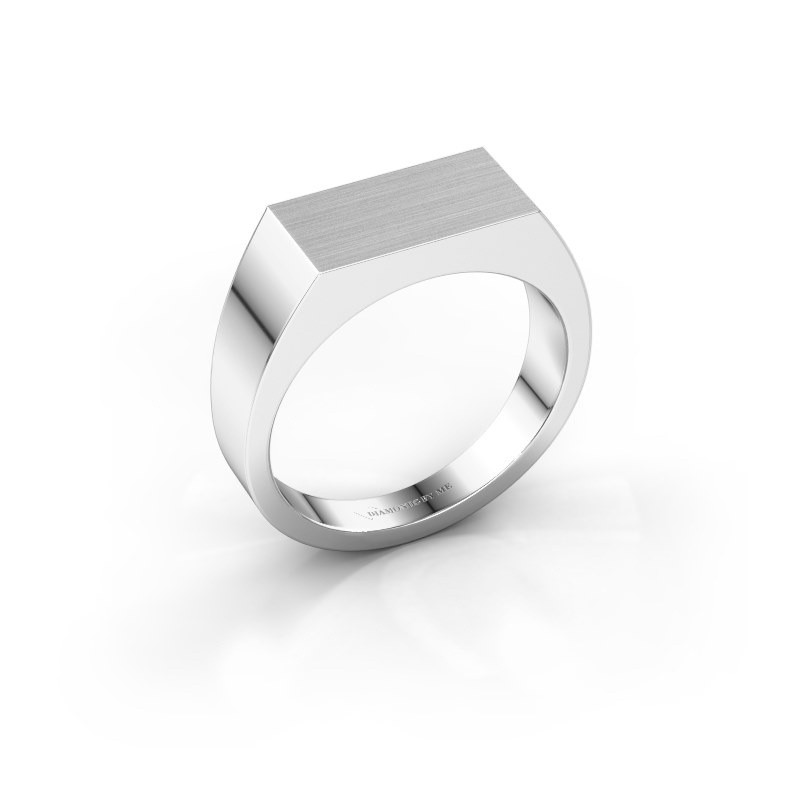 Men's ring Jacob 375 white gold
