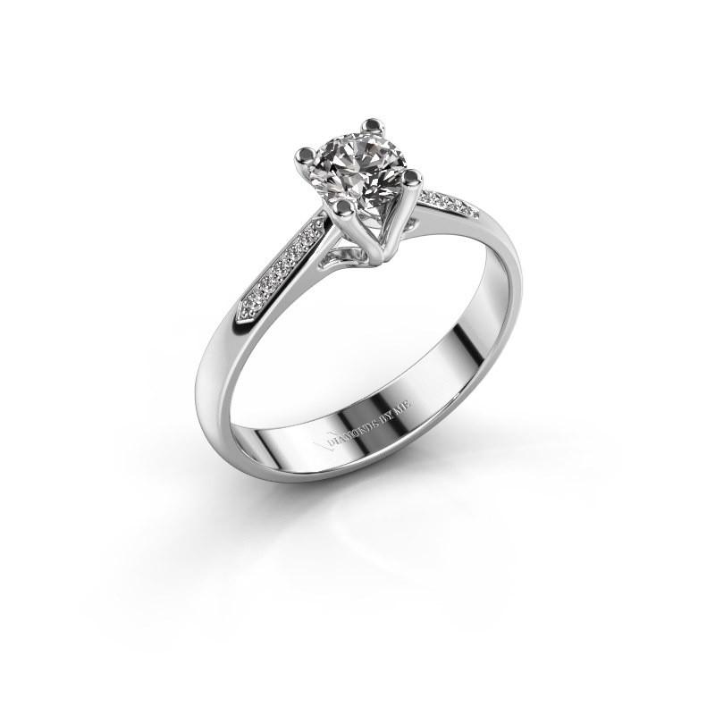 Promise ring Janna 2 585 white gold diamond 0.40 crt