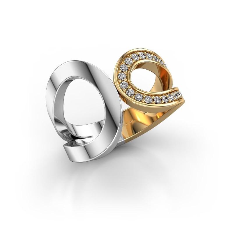 Ring Aniek 585 goud diamant 0.21 crt