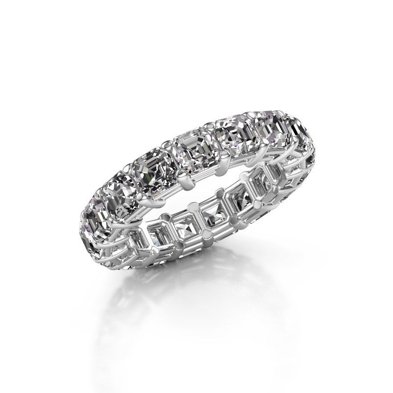Ring Heddy ASH 4.0 585 witgoud diamant 5.950 crt