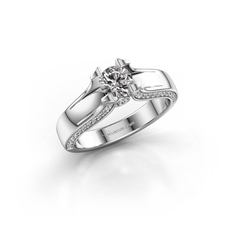 Verlovingsring Jeanne 1 950 platina lab-grown diamant 0.82 crt