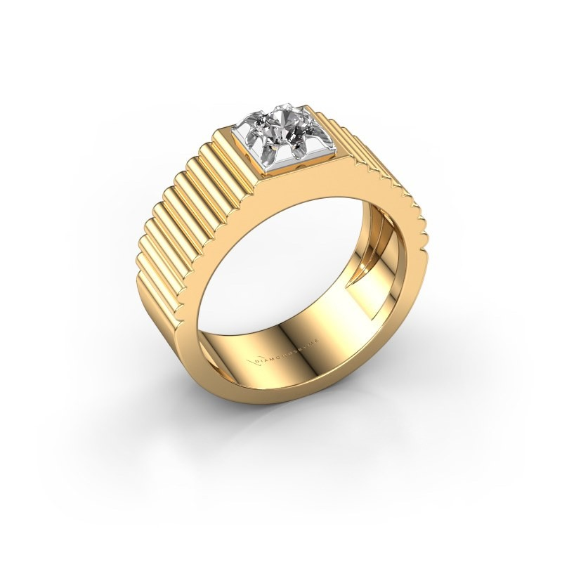 Pinky Ring Elias 585 Gold Diamant 0.40 crt