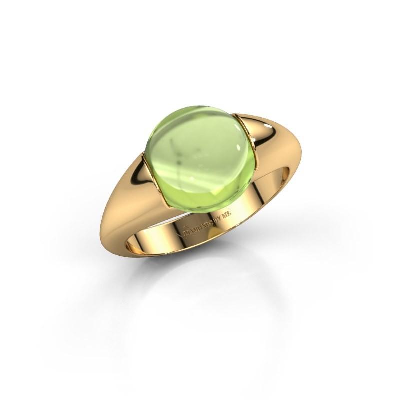 Ring Robine 585 goud peridoot 10 mm