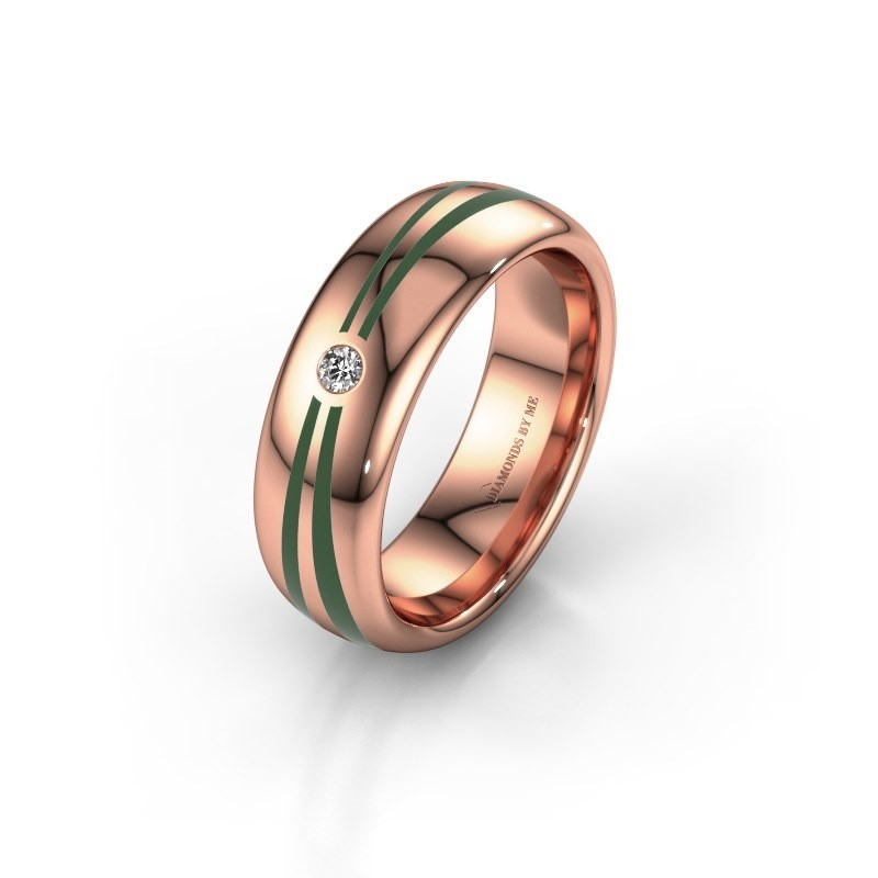 Wedding ring WH2226L36BP 585 rose gold ±6x2 mm