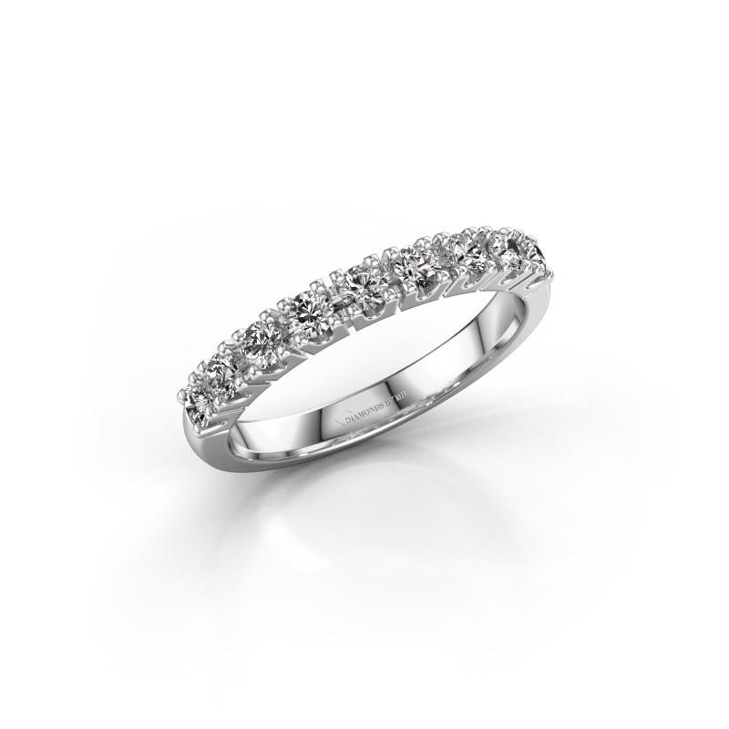Engagement ring Rianne 9 585 white gold lab-grown diamond 0.495 crt