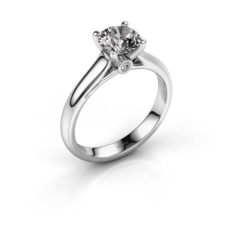 Verlovingsring Valorie 1 950 platina diamant 1.00 crt