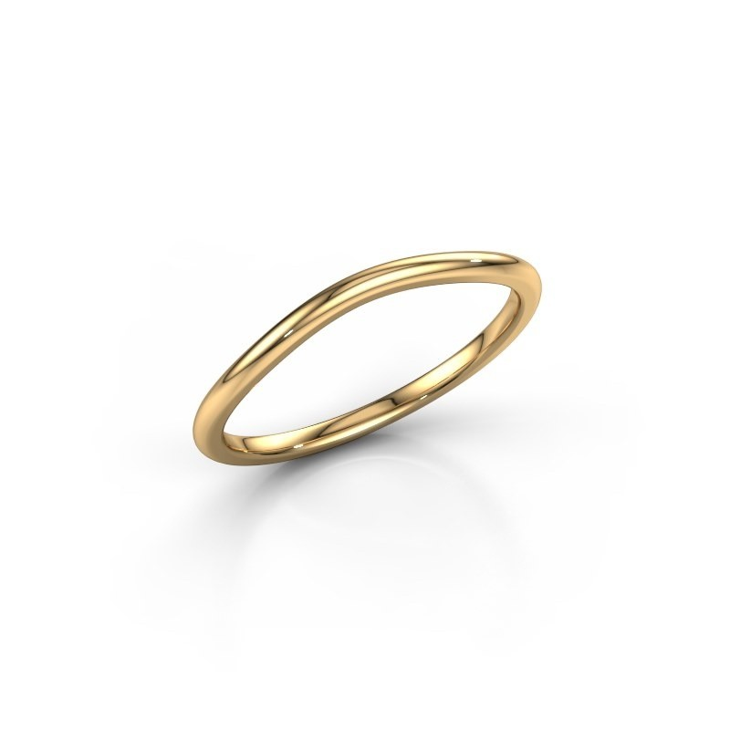 Stackable ring SR30A2 375 gold