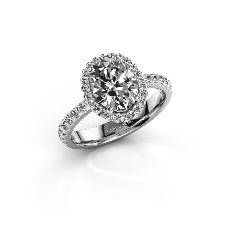 Verlobungsring Lavelle 950 Platin Diamant 2.292 crt
