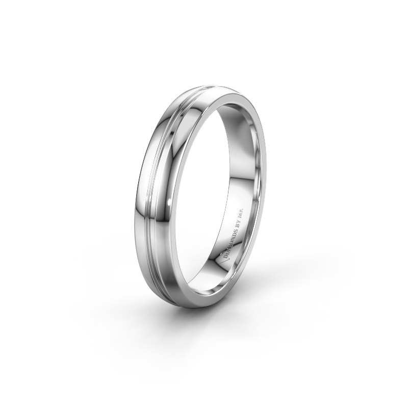 Wedding ring WH0424M24A 925 silver ±4x1.7 mm