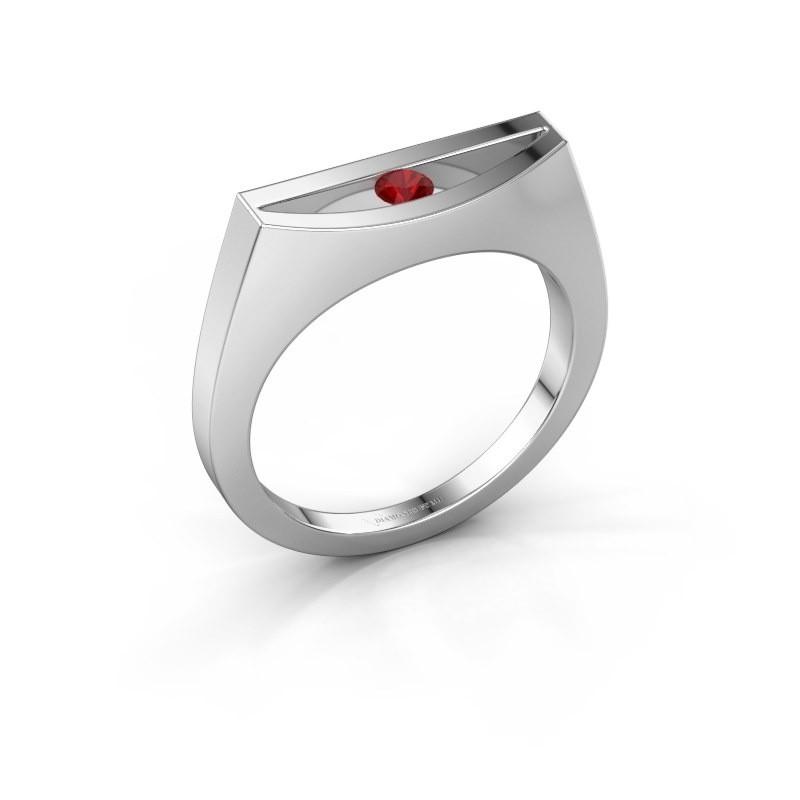 Ring Milou 925 Silber Rubin 3 mm