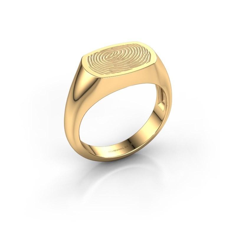 Heren ring Thijs 585 goud