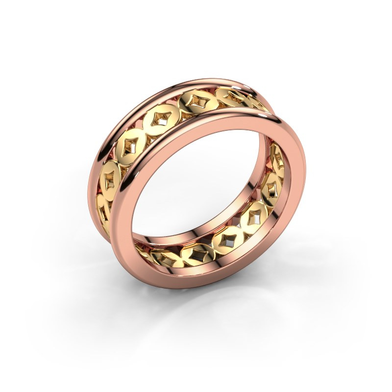 Ring Aya 585 rose gold